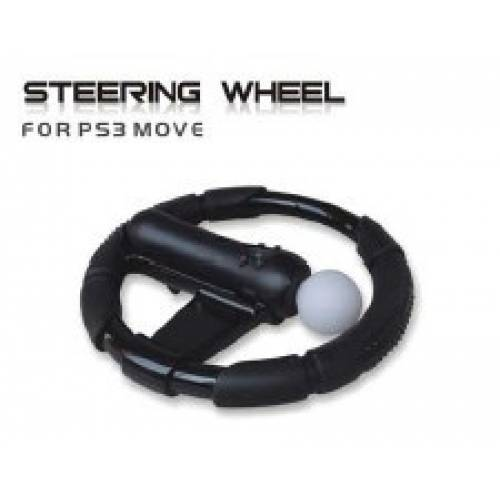 ps3 move steering wheel