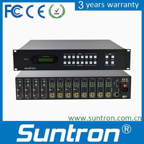 Suntron HDV1204F Seamless Mixed Switcher(support picture cutting&splice)