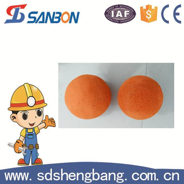 Cleaning Ball Concrete Pumps Cleaning Sponge Ball