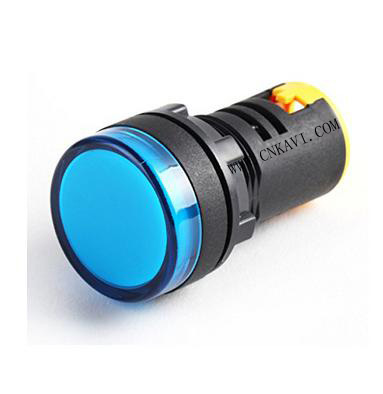 Selling LED Pilot Lamp Signal Light Indicator 22mm AD26B-22DS Blue