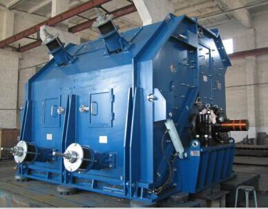 The working principle of reversible counterattack hammer crusher