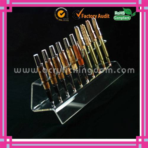 wholesale acrylic pen display stand for 10 pcs