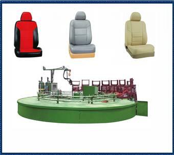 PU car seats foam machine