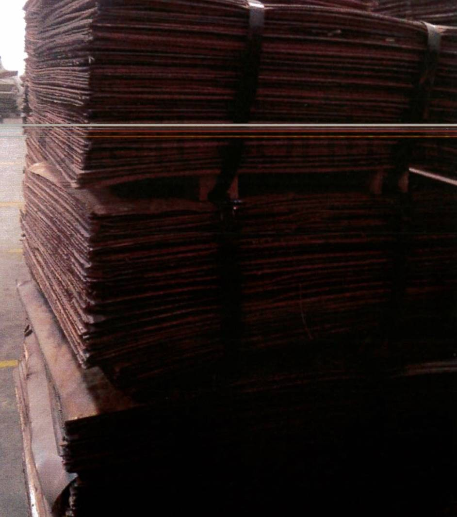 Copper Cathodes LME Grade A, Cu 99,97-99,99%