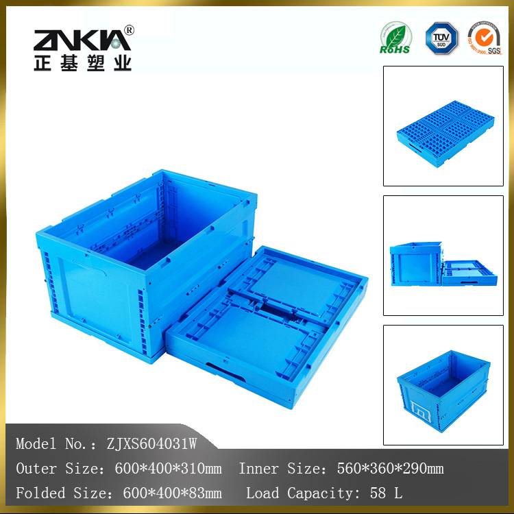 100% virgin PP materail folding feature moving crates