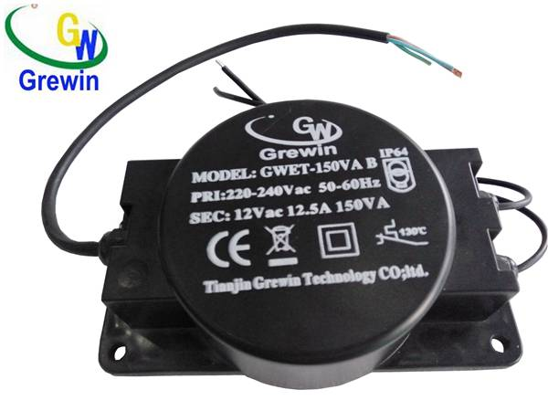 220v 240v 12v 150va outdoor toroidal transformer for swimming pool lighting
