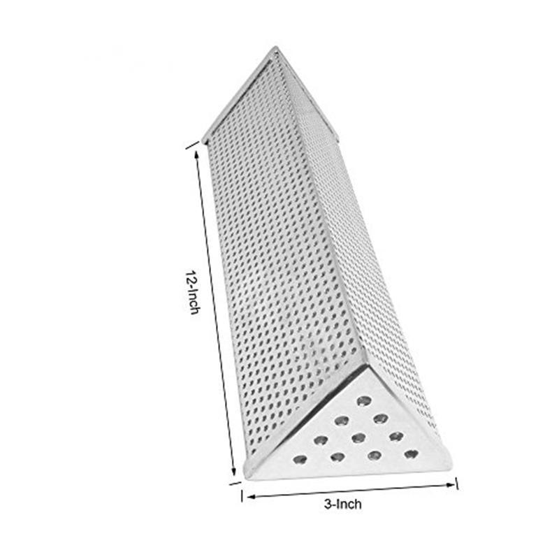 Stainless Steel Triangular Pellet Smoker Tube