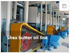 Shea butter oil line
