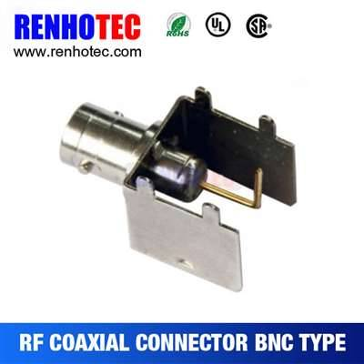 Solderless BNC Plug Connector For Cable RG59/RG6