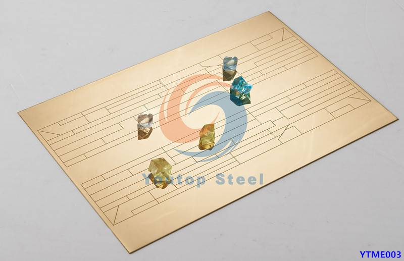 Hot sales laser stainless steel sheets