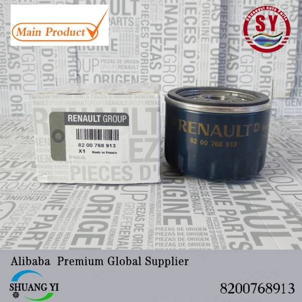 Genuine Renault Oil Filter Part Number 8200768913/ 7700274177 and Fits Various Models in Range