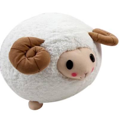 Super Lovely White Pig Cushion