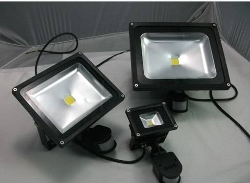CE ROHS 10w LED infrared motion flood light IP65