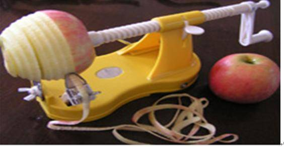 Apple Feeler and Plastic apple peeler
