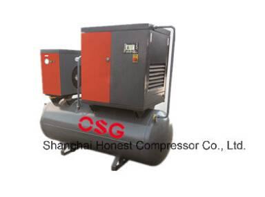 manufacture Combined Screw Air Compressor
