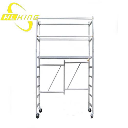 H type foldable aluminium Scaffold Rolling Tower(SF-218)