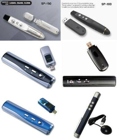 Wireless Presenter (Smart Pointer, Laser Pointer)