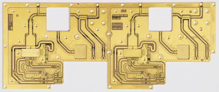 pre bonded PTFE PCB for special power amplifier
