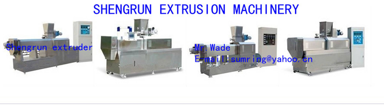 puffed snacks processing machinery