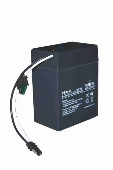 6V14ah lead acid batteries