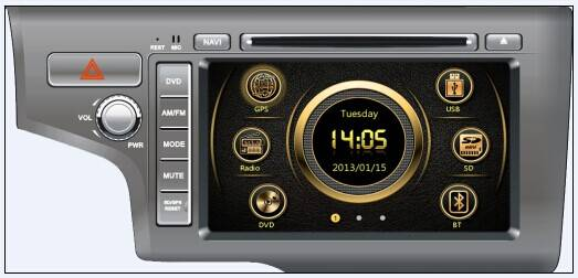 car dvd for 2014 Honda Fit