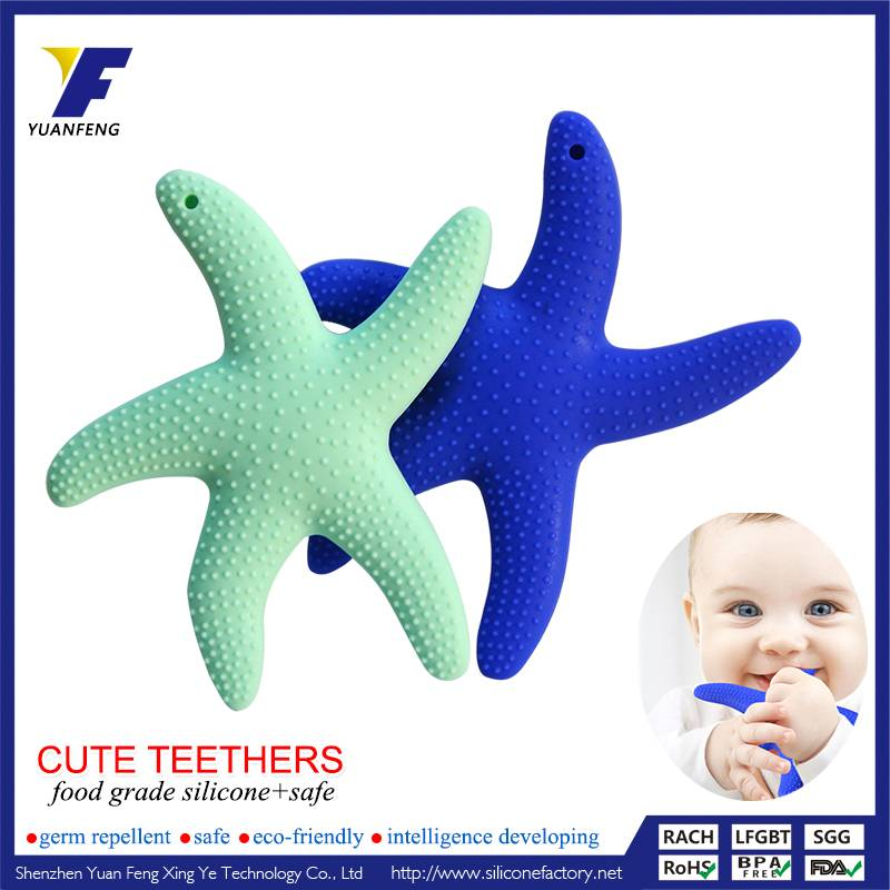 Wholesale Silicone Baby Teether BPA Free With Animal Shape