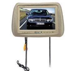 9 inch Headrest Pillow TFE LCD Monitor/TV Wide Screen
