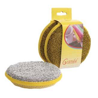 Gold & Silver Scouring Pads,scouring ball