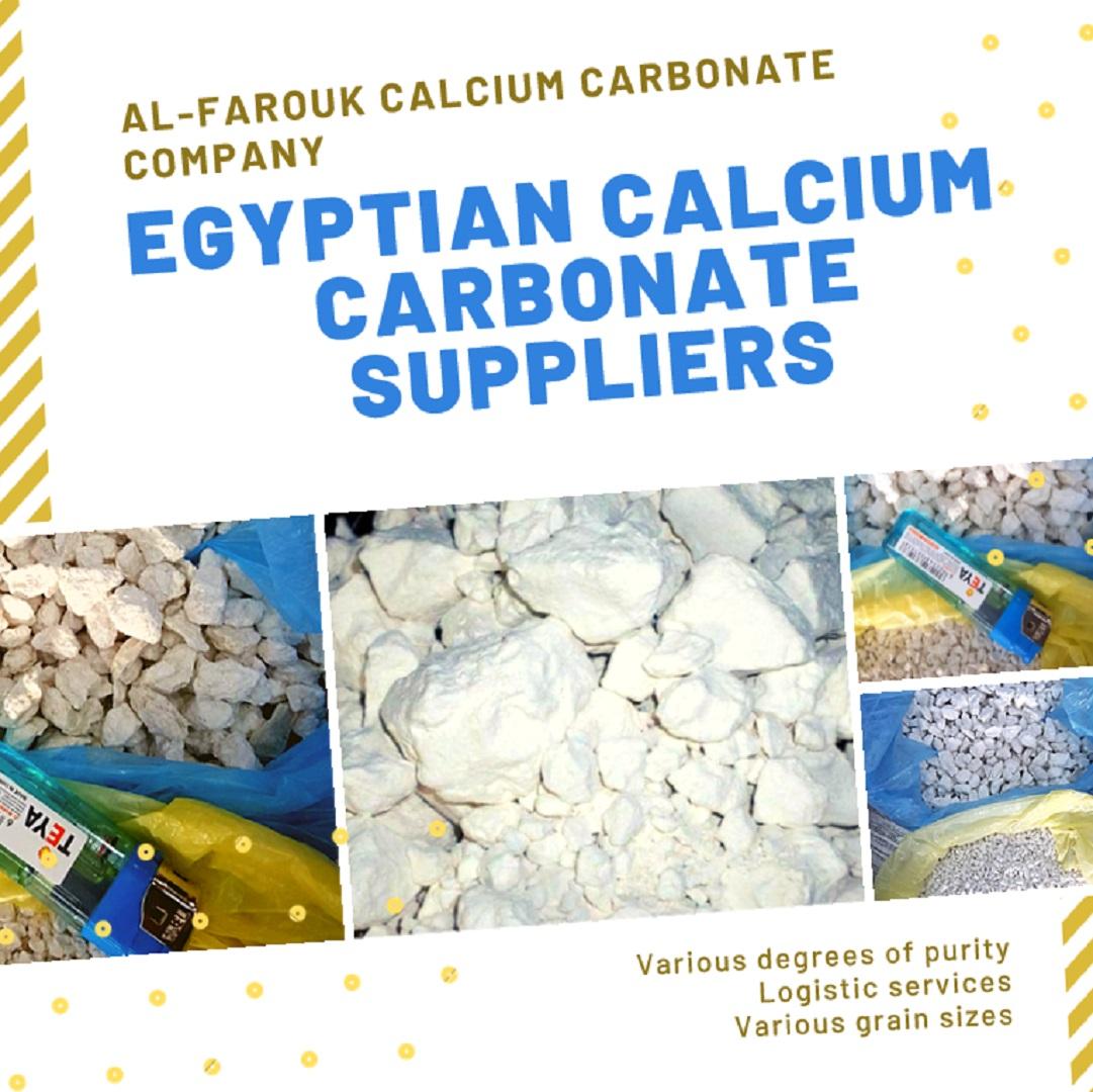 Egyptian Calcium Carbonate Suppliers