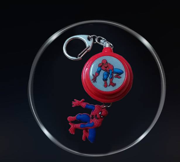 New designed Spiderman shape Security Alarm