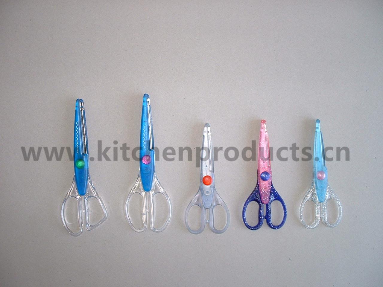 Plastic scissor