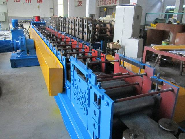 Supply Simple Cable Ladder Roll Forming Machine