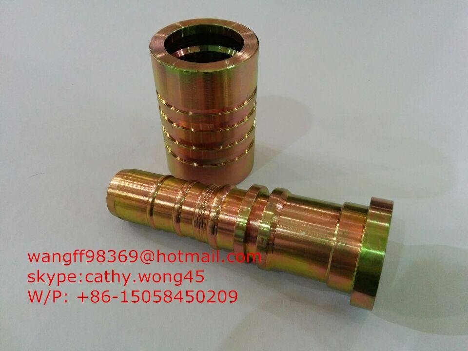hydraulic hose end fitting
