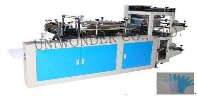 UW-CPE600 Double Layers Disposable Glove Making Machine