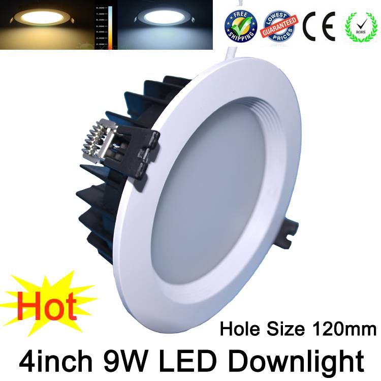 New Recessed LED Downlight SMD 5630 6W 9W 12W 15W LED Spot Light LED Ceiling Lamp Ac220v
