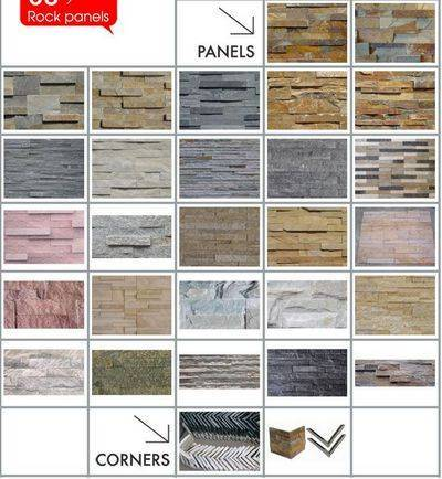 culture stone,rock panel wall cladding