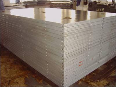 hydraulic plywood press plate