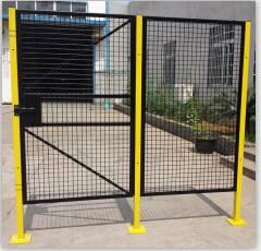 wire machine guard panel