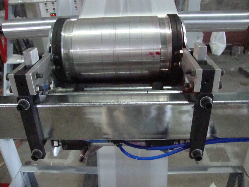 on Line One-Color Logo Flexographic Printing Machine with Film Blowing Machine