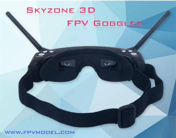 FPV Goggles, Skyzone Goggles, Skyzone 3D Goggles