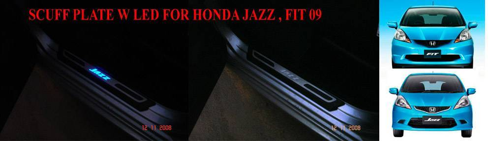 SCUFF PLATE LED for Honda Jazz & Fit 09 (GE8 JDM)