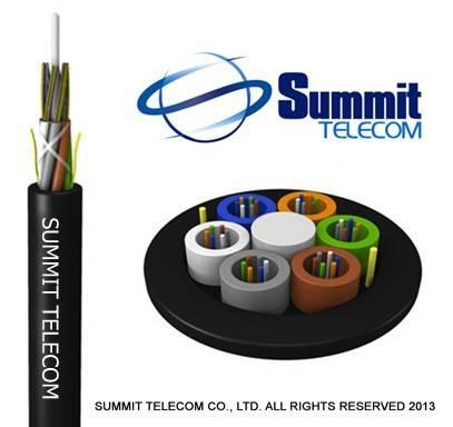 GYFTY Non-metallic Strength Member Loose Tube Stranded Outdoor Optical Fiber Cable