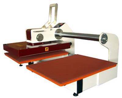 double stations heat press machine