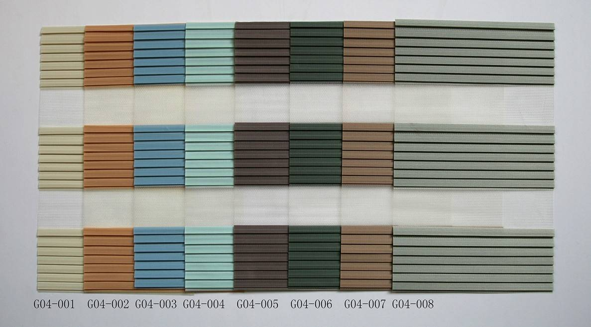 zebra blinds fabric/ vision blinds fabric/ double roller shade