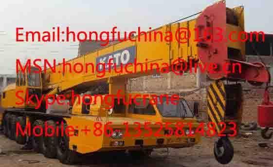 80 ton KATO NK-800E Fully Dydraulic Truck Crane