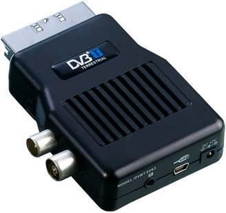 Cheap Mini Scart Mpeg2 DVB-T Receiver, TV Tuner, TV Receiver, DVBT2263