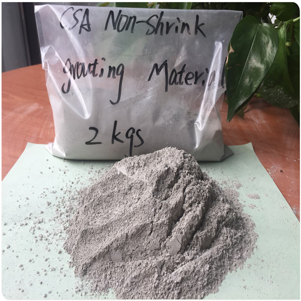 Structure enhancement Non-shrink Grouting material
