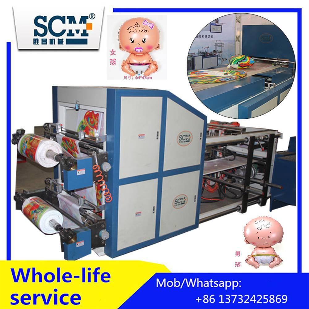 Maquina Automatica Fabricadora De Helio Foil Globos