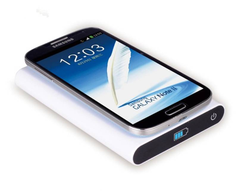 T800 wireless charger stand power bank for smart phone