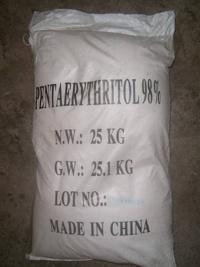 Manufacturer of High Quality Pentaerythritol (90%/95%/98%) (SGS)